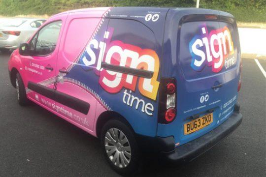 Signtime Van
